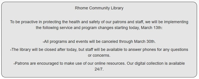 RCLLibraryClosed Sign.jpg